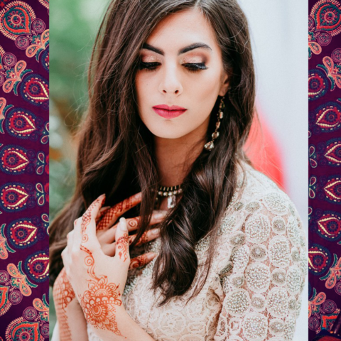 Photo shoot for My Big Fat Indian Wedding